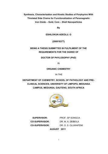 Thesis submitted 23-03-2012.pdf - University of Limpopo ...