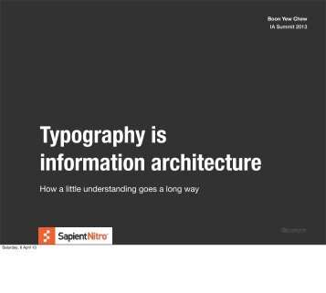Typography-is-IA-IA-Summit-2013