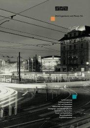 Firmenbroschüre (pdf 2418kB) - SNZ Ingenieure und Planer AG
