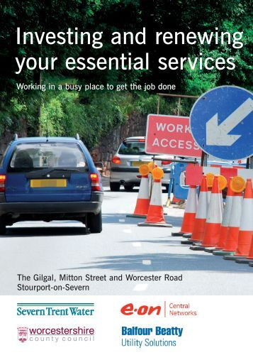 Investing and renewing your essential services - Severn Trent Water