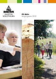 PS Aktiv Kursprogramm 2012 - Pro Senectute Kanton Solothurn