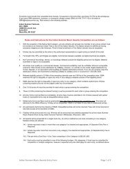 Indian Summer Music Awards Entry Form Page 1 of 2 Rules and ...