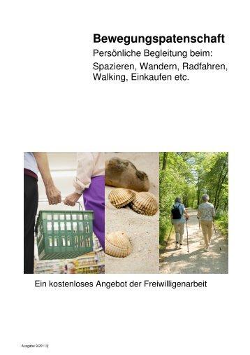Bewegungspatenschaft - Pro Senectute Kanton Solothurn
