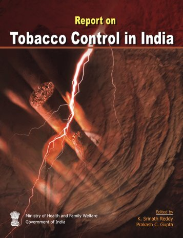 Report on Tobacco Control in India - World Health Organization