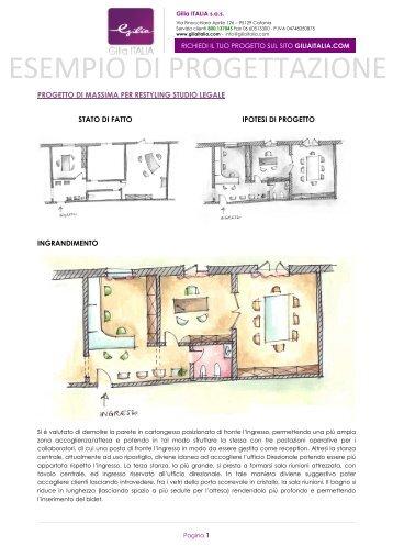 vedi un esempio di progettazione - Giliaitalia.com