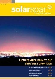 Ausgabe 3/2006 - Solarspar