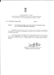GOVERNMENT OF INDIA - Income Tax Department