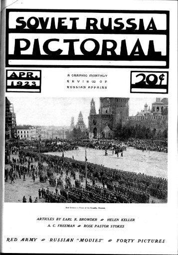 Soviet Russia Pictorial.