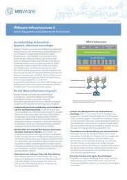 VMware Infrastructure 3 - alphaTrust.ch ag