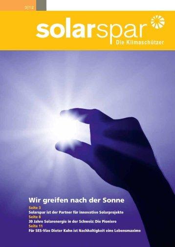 Ausgabe 3/2012 - Solarspar