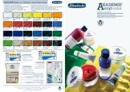 AKADEMIE®Acryl color Struktur / extra heavy body - Schmincke
