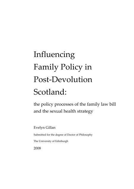 University of edinburgh dissertation title page