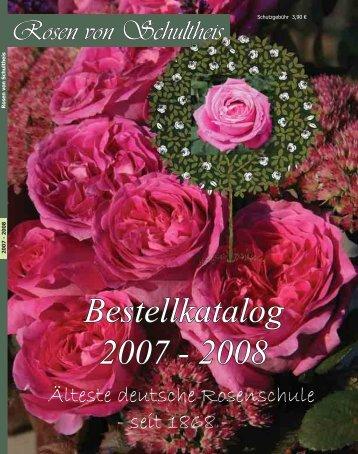Bestellkatalog 2007 - 2008 - Rosenhof- Schultheis
