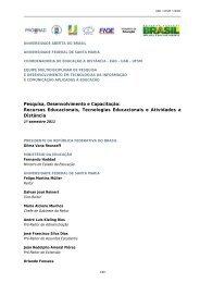 Pesquisa, Desenvolvimento e Capacitação: Recursos Educacionais ...
