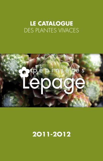 pépinières - Lepage