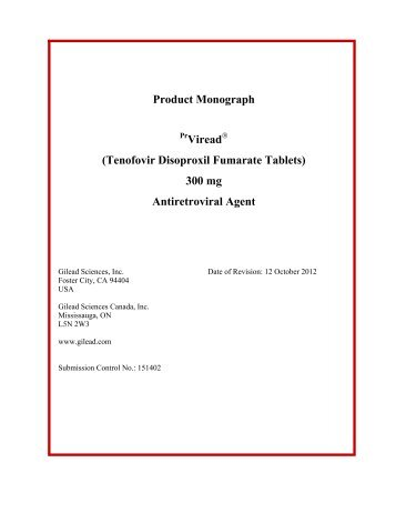 Latisse product monograph allergan product monograph gilead pronofoot35fo Image collections