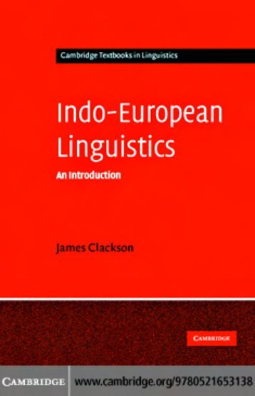 Indo-European Linguistics - An Introduction.pdf