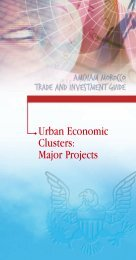 Urban Economic Clusters: Major Projects - Morocco On The Move