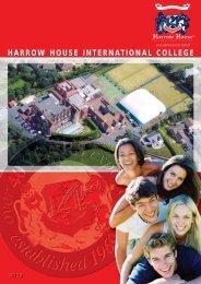 English Brochure PDF - Harrow House International College