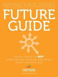 FUTURE Guide here - Hartford Public Schools
