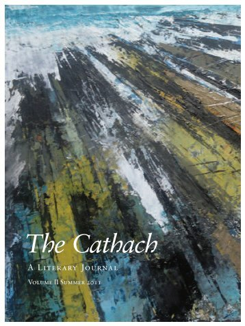 The Cathach 2011 - Volume II (PDF) - Sligo Libraries