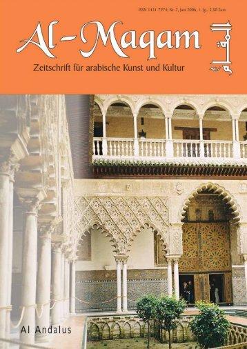Al Andalus - Al-Maqam, Zeitschrift für arabische Kunst und Kultur