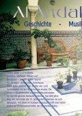 Al Andalus - Al-Maqam, Zeitschrift für arabische Kunst und Kultur - Page 6