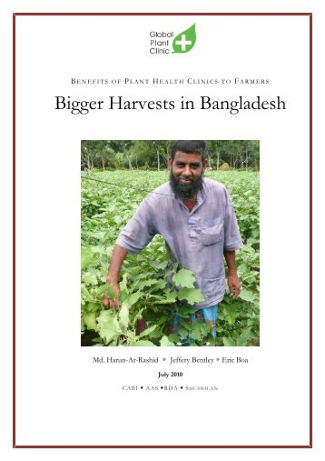 Bigger Harvests in Bangladesh