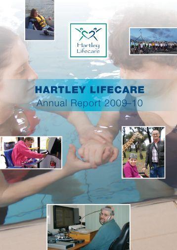 HARTLEY LIFECARE Annual Report 2009–10