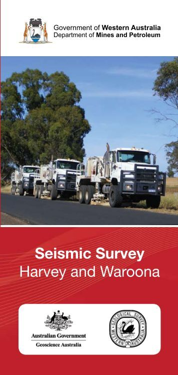 Seismic Survey Harvey and Waroona - Department of Mines and ...