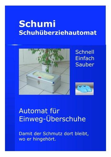 Nutzen des Schuhüberziehautomaten - somnotec.ch