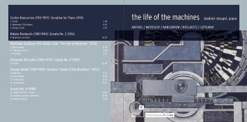 the life of the machines - Vladimir Stoupel