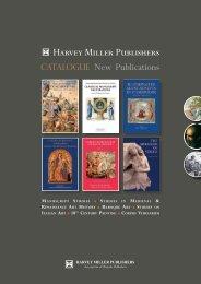 Harvey Miller Publishers-Catalogue - Brepols Publishers