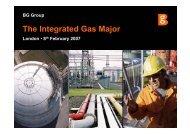 The Integrated Gas Major - BG Group