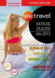 katalog 2013 - You Travel