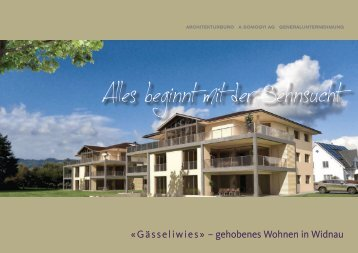 G ä sseliwies - Architekturbüro Somogyi AG
