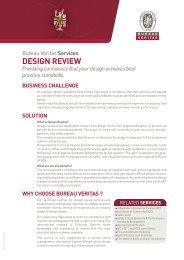 Design Review Pdf - Bureau Veritas