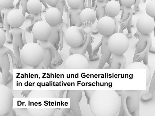 Dr. Ines Steinke - DoKoLL - TU Dortmund