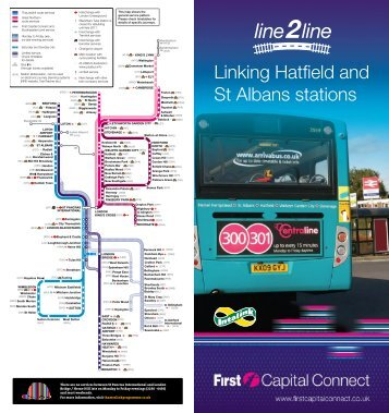 Linking Hatfield and St Albans stations - First Capital Connect