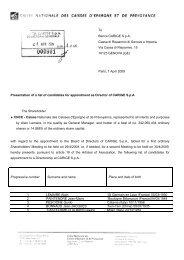 To Banca CARIGE S.p.A. Cassa di Risparmio di Genova e Imperia ...