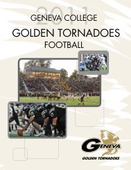GOLDEN TORNADOES - College Football Dvds-Media Guides Project