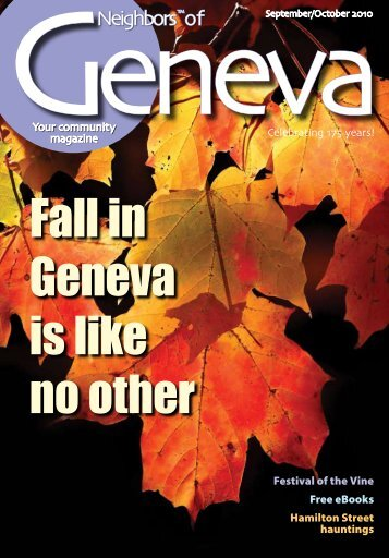 Fall in Geneva is like no other - Neighbors of Geneva