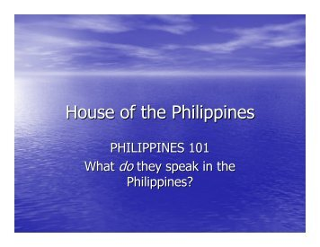 House of the Philippines