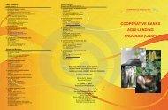 cooperative banks agri-lending program (cbap) - Agricultural Credit ...