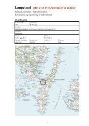 Langeland -atlas over byer, bygninger og miljøer - test flere kort