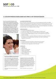 Weitere Details finden Sie in unserem Flyer - Soreco Publica AG