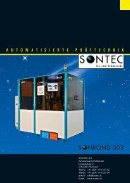 ROND 503 - SONTEC AG, Automation und Prüftechnik