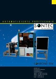 ROND 504 - SONTEC AG, Automation und Prüftechnik