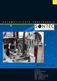 TAKT T 605 - SONTEC AG, Automation und Prüftechnik