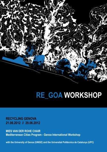 Genoa International Workshop 2012 - Fundació Mies van der Rohe